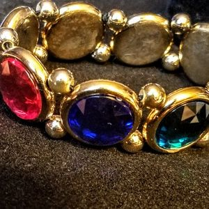 Jewelry - Multi colored stone stretch bracelet